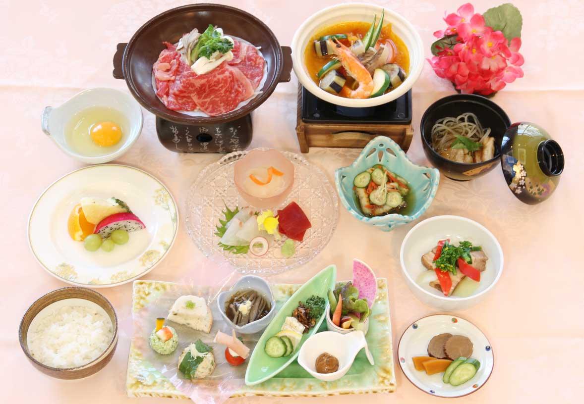 「美食コース」の画像